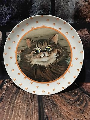 Lowell Herrero Decorative Cat Plate Vintage 1988