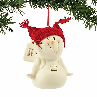 Dept 56 Snowpinions Collection Take A Hike Ornament New 2016