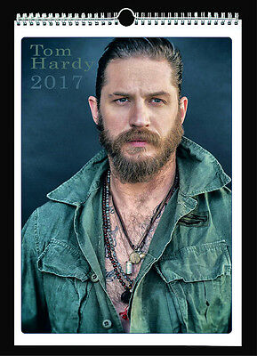 Tom Hardy 2017 Wall Holiday Calendar Peaky Blinders Legend The Revenant
