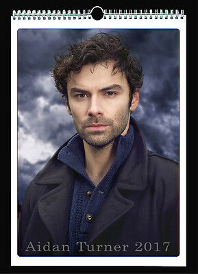 Aidan Turner 2017 Wall Holiday Calendar