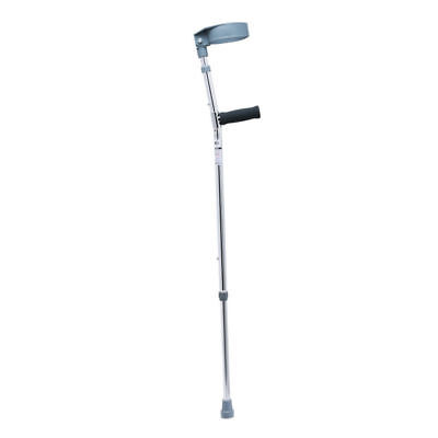 Ultralight Portable Adjustable Forearm Crutch Walking Stick Aluminium (single)
