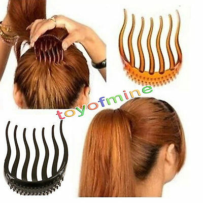Women Lady Hair Styling Clip Stick Bun Maker Braid Tool Hair Accessories Fashion