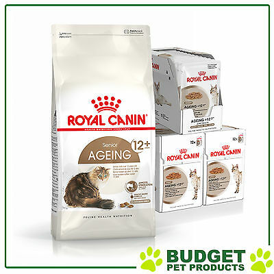 Royal Canin Monthly Bundle Cat Food Ageing For +12 Years Cats