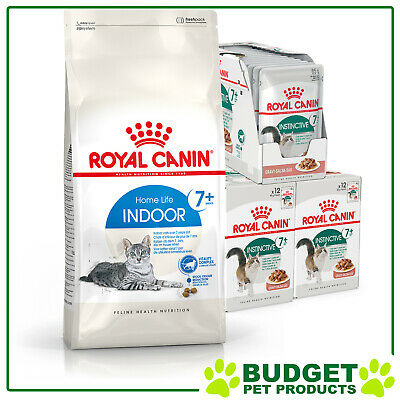 Royal Canin Monthly Bundle Cat Food Indoor Mature Senior For + 7 Years Cats