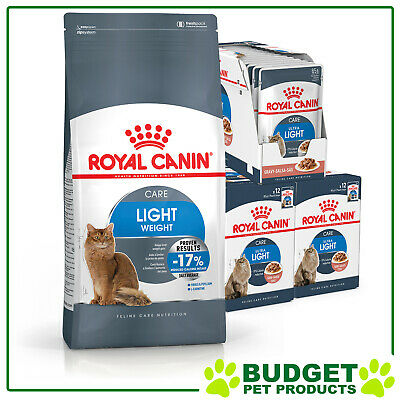 Royal Canin Monthly Bundle Cat Food Light Weight Care For Adult Cats