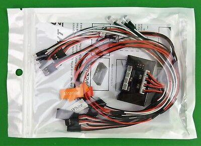 Indicator,Head & Tail light kit for 1:10 RC car or truck suit Axial Tamiya Gmade