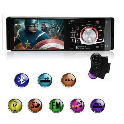 4.1'' Autoradio Bluetooth Audio Auto Lettore MP3 MP4 MP5 AUX FM/USB Vivavoce
