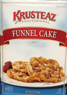 5 Pounds Krusteaz Funnel Cake Mix