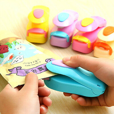 Mini Portable Handheld Heat Sealing Machine Plastic Bag Sealer Seal Tool BU