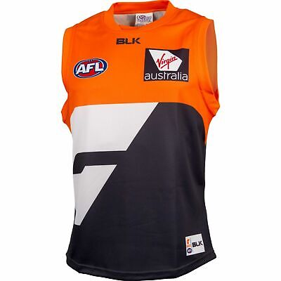 GWS Giants AFL Home Guernsey Adults and Kids Sizes Available BNWT6