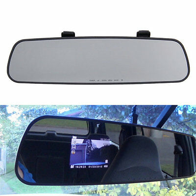 HD 1080P Dash Cam Video Recorder Rearview Mirror Car Camera Vehicle DVR N4