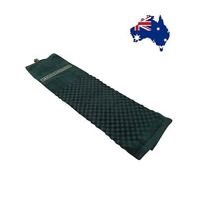 NEW Deluxe Golf Towel   100% Luxury Cotton & Strong Clasp