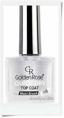 Golden Rose, quick dry TOP COAT, NEW Product, Best price