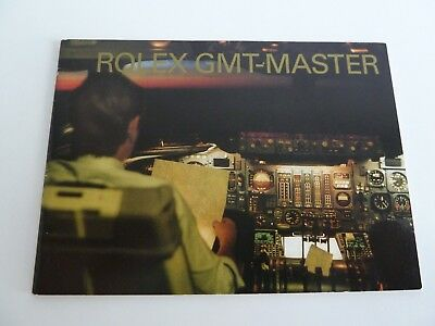 Rolex GMT Master Booklet - USA von 02-2007