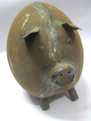 Antique Iron Pig Trade / Hunting Sign
