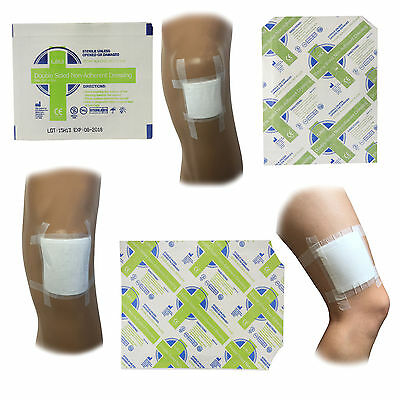 CMS Medical Sterile Double Sided First Aid Injury Low Adherent Wound Dressings