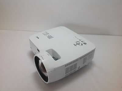 Nec Np610S Projector Used 1863 Hours 54% Lamp Life Remaining Dull Pic | Ref:s28