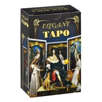 New French Elegant Tarot (in russian) 78 cards Французское Изящное Таро
