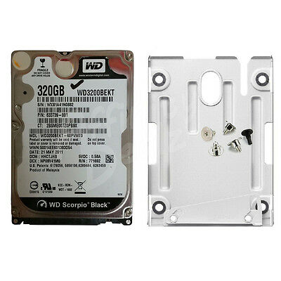 320 GB Hard Disk Drive with Caddy for Sony Playstation 3 Super Slim (CECH 400x)