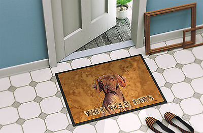 Carolines Treasures  SC9132MAT Vizsla Indoor or Outdoor Mat 18x27 Doormat