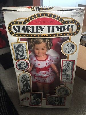 """Vintage Ideal Shirley Temple Doll No 1125 """"now Appearing Shirley Temple"""""""