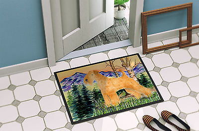 Carolines Treasures  SS8168MAT Lakeland Terrier Indoor Outdoor Mat 18x27 Doormat