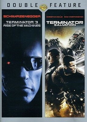 Terminator 3: Rise of the Machines/Terminator Salvation [2 Disc (2011, DVD NEUF)