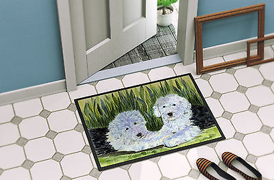 Carolines Treasures  SS8282MAT Old English Sheepdog Indoor or Outdoor Mat 18x27