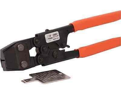 Full-Size Crimper Stainless Steel PEX Clamp Ring Tool 1 2 3 4. 3/8 1/2 In. New