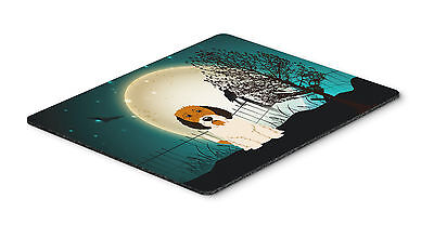 Halloween Scary Petit Basset Griffon Veenden Mouse Pad, Hot Pad or Trivet