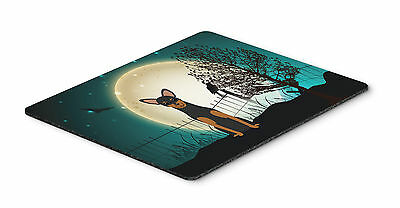Halloween Scary Manchester Terrier Mouse Pad, Hot Pad or Trivet