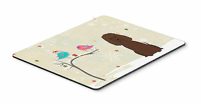 Christmas Presents between Friends Irish Water Spaniel Mouse Pad, Hot Pad or Tri