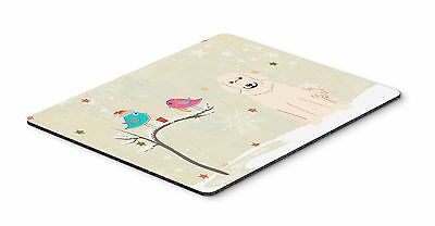 Christmas Presents between Friends Great Pyrenese Mouse Pad, Hot Pad or Trivet
