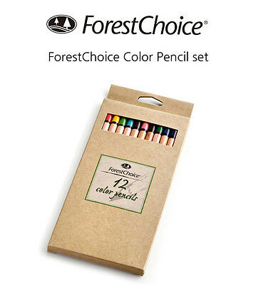 New Palomino Forestchoice Color Pencil 12ea (1 Dozen) Gift Set Craft Blackwing