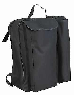 NEW Aidapt Deluxe lined wheelchair crutch & walking stick holder shopping bag