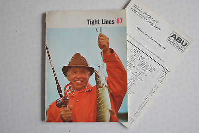 A Vintage Abu Advertising Fishing Catalogue For 1967