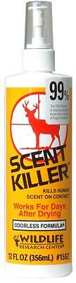 Hunting Scent Eliminator Spray - Scent Killer - Wildlife Research - Cover Mask