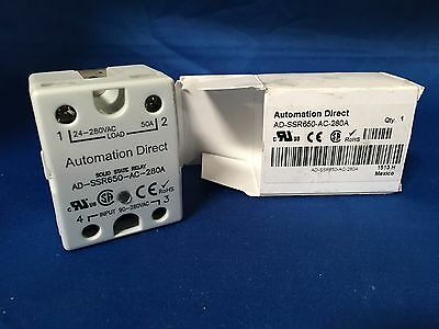 Automation Direct AD-SSR650-AC-280A Solid State Relay 24-280VAC Load