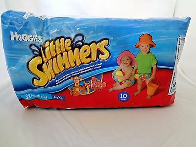 Huggies Little Swimmers Disposable Swimpants, Size L (32 + lbs), 10ct