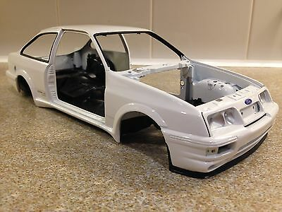 1 18 minichamps ford sierra cosworth bodyshell modified. Black Bedroom Furniture Sets. Home Design Ideas