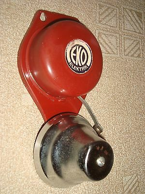 EKO ELEKTRIK vintage rare electric door bell from East Germany DDR