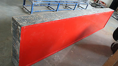"""Gruber Solid Surface Deck, 30""""x146""""x9/16"""", Series 440-NB-146, Cat No 22350"""