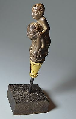 Oceanic Indonesian Tribal Art  Fine Carved Keris Handle