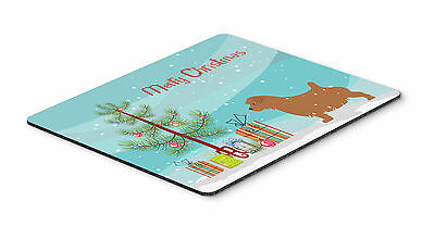 Norfolk Terrier Merry Christmas Tree Mouse Pad, Hot Pad or Trivet