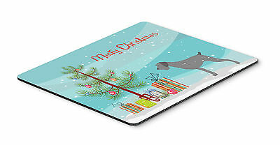 German Wirehaired Pointer Merry Christmas Tree Mouse Pad, Hot Pad or Trivet