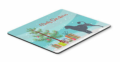 Portuguese Water Dog Merry Christmas Tree Mouse Pad, Hot Pad or Trivet