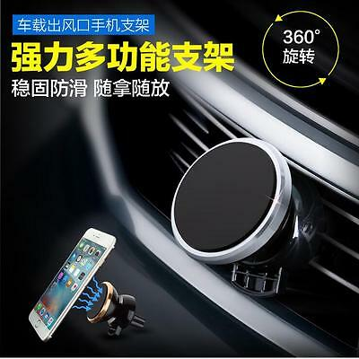 vents celular car holding Self locking Anti drop Magnetic mobile phone support