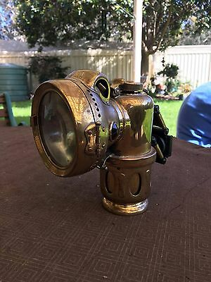 1920's Vintage Bicycle Lamp - Powell and Hanmer