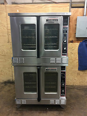Garland Double Stack MCO-ES-10 Convection Ovens 3ph 460v