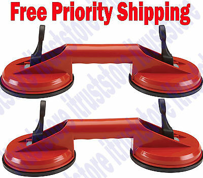 2 Pc Hd Suction Cup Auto Glass Lifter Removal Windshield Installer Remover Tool